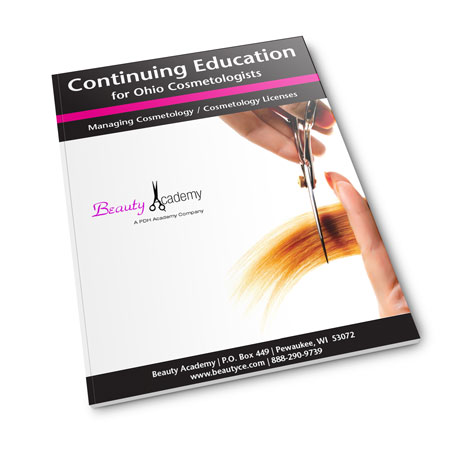 Ohio Cosmetology Ce Class Book Request Beauty Academy